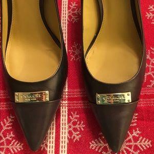 d180a4dc9bbd Bronze Coach Heels